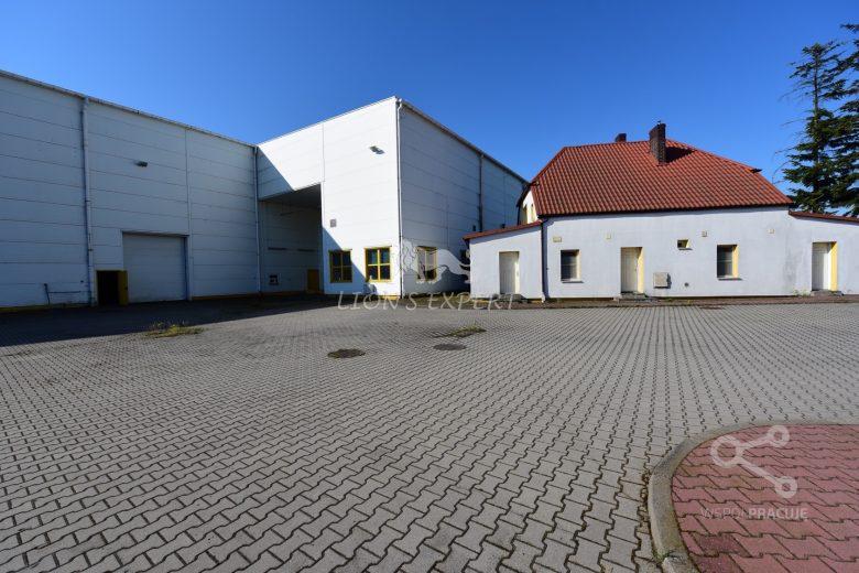 Hala produkcyjno-magazynowa w SzamotułachHall and warehouse in Szamotuły