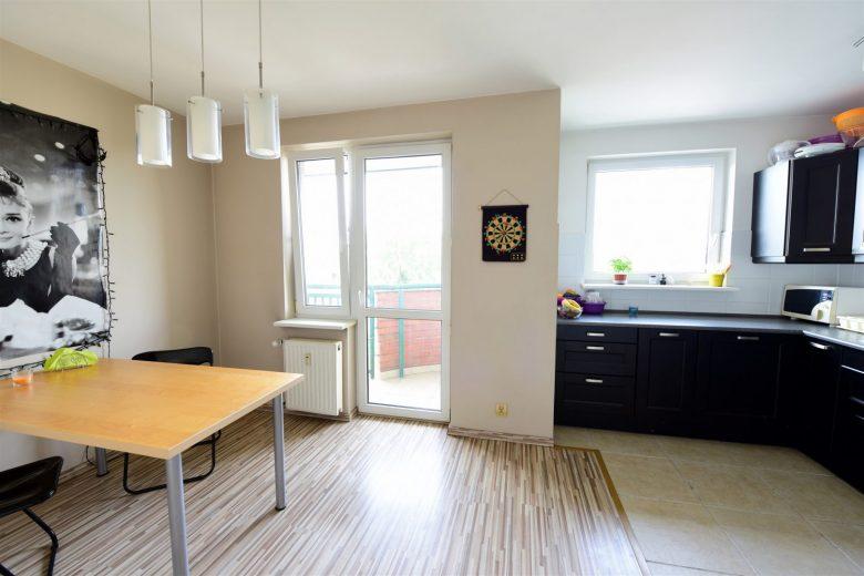 Dwupoziomowe, 4 pokoje, 2 balkony